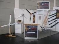 Le stand Electravia - Hélices E-PROPS au Salon AERO 2010