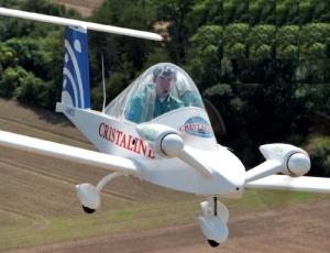 Cri-Cri MC15E 100% électrique E-Cristaline record du monde de vitesse 262 km/h moteurs Electravia