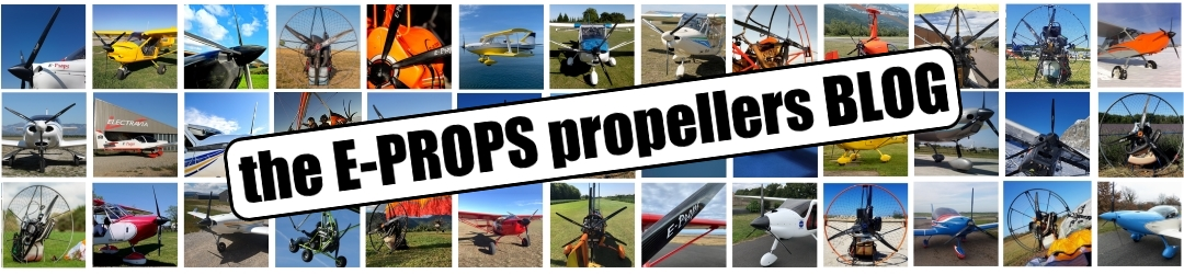 E-PROPS : CARBON-TITANIUM PROPELLERS FOR AIRCRAFT, ULTRALIGHTS, PARAMOTORS
